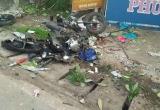 Tai nạn giao thông Plus: Xe tải tông xe máy, mẹ bị thương con nguy kịch