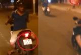 Đắk Lắk: Xác minh, làm rõ danh tính của nam thanh niên ngồi ngược điều khiển xe máy