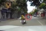Quảng Ninh: CSGT được hỗ trợ đuổi bắt xe taxi vi phạm như phim hành động