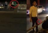 Clip: Nam thanh niên bị ném gạch vì bắt nạt tài xế Grabbike