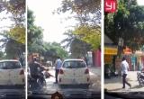 [Clip]: Người đàn ông mở cửa xe bất ngờ gây tai nạn cho bé gái rồi bỏ đi