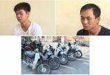 Hai 'siêu trộm' gây ra 13 vụ trộm cắp xe máy ở Thái Bình sa lưới