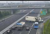 [Clip]: Xe container lao ngược chiều trên cao tốc Hà Nội - Hải Phòng