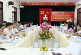 Thứ trưởng Nguyễn Khánh Ngọc thăm và làm việc với Sở Tư pháp, Cục Thi hành án dân sự tỉnh Thừa Thiên Huế