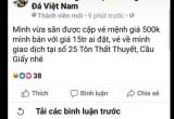 """""""Chợ vé online""""trận chung kết Việt Nam - Malaysia sôi nổi, ngoài tầm kiểm soát"""