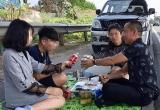 Phạt tài xế mở tiệc gia đình trên cao tốc Nội Bài - Lào Cai