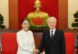 Lãnh đạo Đảng, Nhà nước tiếp Đoàn đại biểu Quốc hội Lào