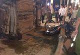 Quảng Ninh: Không làm chủ tốc độc, 'xế hộp' gây tai nạn liên hoàn trên đường