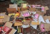 Nghệ An: Thu giữ 543 kg pháo trên đường vận chuyển đi tiêu thụ
