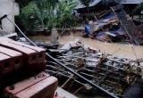 Lào Cai: Ảnh hưởng bão số 3, 1 người chết, nhiều ngôi nhà bị hư hỏng nặng