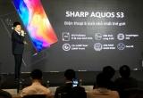 Sharp giới thiệu điện thoại Aquos S3 6 inch nhỏ nhất thế giới