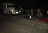 Bình Dương: Va chạm với xe container, nam thanh niên tử vong tại chỗ