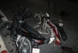 Bình Dương: Hai xe máy biến dạng, hai người bị thương nặng sau va chạm
