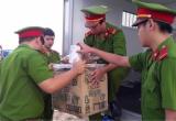 Bình Dương: Tiêu hủy tang vật trong vụ án mua bán, vận chuyển trái phép 570 bánh heroin