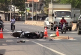 Bình Dương: Tai nạn liên hoàn giữa xe máy và ôtô khiến 1 người tử vong