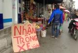 Gửi xe máy gần chùa Phúc Khánh bị 'chém đẹp' 20 nghìn đồng