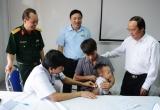 Phú Thọ: Khám sàng lọc miễn phí bệnh tim cho trẻ em nghèo