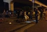 Lao thẳng xe máy vào xe container, nam thanh niên chết thảm