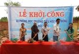 Bình Phước: Khởi công xây dựng 2 phòng học cho học sinh đồng bào dân tộc
