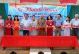 Bàn giao công trình cho trường học sinh đồng bào dân tộc tỉnh Bình Phước