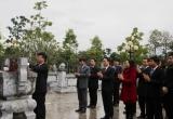 Lãnh đạo Bộ Tư pháp dâng hương tại Khu di tích lịch sử của Bộ