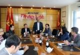 Lãnh đạo Bộ Tư pháp chúc tết Báo Pháp luật Việt Nam