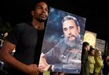 Hình ảnh di hài Fidel Castro bắt đầu hành trình về 'cái nôi' Cách mạng