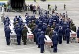 Thi thể 71 nạn nhân vụ máy bay rơi ở Colombia được đưa về quê nhà