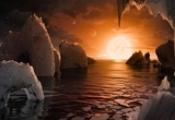 Phát hiện 7 hành tinh giống Trái Đất có thể chứa sự sống