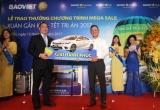 Bảo Việt trao giải trúng xe ô tô cho khách hàng