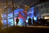 Hiện trường 2 tàu hỏa đâm nhau trực diện ở Nga, 50 người bị thương