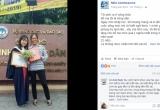 Xúc động người mẹ nghèo cười rạng rỡ bên con gái trong lễ tốt nghiệp