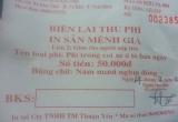 Nam Định: UBND xã bán vé gửi xe ảo, trắng trợn thu tiền du khách
