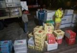 Quảng Ninh: Bắt giữ gần nửa tấn hoa quả không rõ nguồn gốc