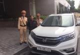 Ăn cắp xe ô tô ở Thái Bình, qua Quảng Ninh bị CSGT tóm gọn