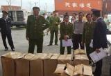 Hải Phòng: Phát hiện hai container có gần 3 tấn lá Khát chứa chất ma túy