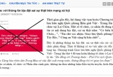 """Thông tin """"7 chiến sĩ Công an tỉnh Lai Châu bị bắn chết"""" là hoàn toàn bịa đặt"""