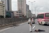 Hà Nội: Đi xe máy vào đường vành đai 3 trên cao, một người chết thảm