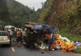 Tai nạn liên hoàn trên quốc lộ 6, nhiều người thương vong