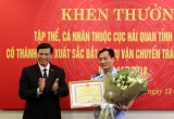 Quảng Ninh: Lãnh đạo UBND tỉnh tặng bằng khen tập thể, cá nhân cục Hải Quan có thành tích xuất sắc