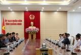 Tỉnh Quảng Ninh làm việc với Tập đoàn JDC để đón nhà đầu tư vào KKT Vân Đồn