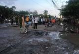 Kinh hoàng điện giật khiến 6 học sinh thương vong ngay trước cổng trường