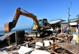 Vũng Tàu: Cưỡng chế hàng loạt công trình xây dựng lấn chiếm ven biển