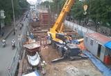 Khốn khổ vì Công trình Metro Cầu giấy -  Nhổn thi công 'rùa bò'
