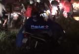 Clip: Cảnh hàng ngàn công nhân vật lộn về nhà sau cơn mưa