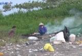 TP HCM: Ô nhiễm từ phế liệu trên bờ kênh Tham Lương