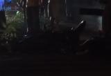 Bình Dương: Xe máy va chạm xe container, nam thanh niên chết thảm