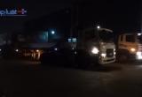 Bình Dương: Container kéo lê xe máy, một người nguy kịch