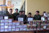 Hà Tĩnh triệt phá vụ vận chuyển 300kg pháo từ Lào về Việt Nam