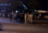 Đà Nẵng: Vượt đèn đỏ gây tai nạn còn chống đối uy hiếp CSGT
